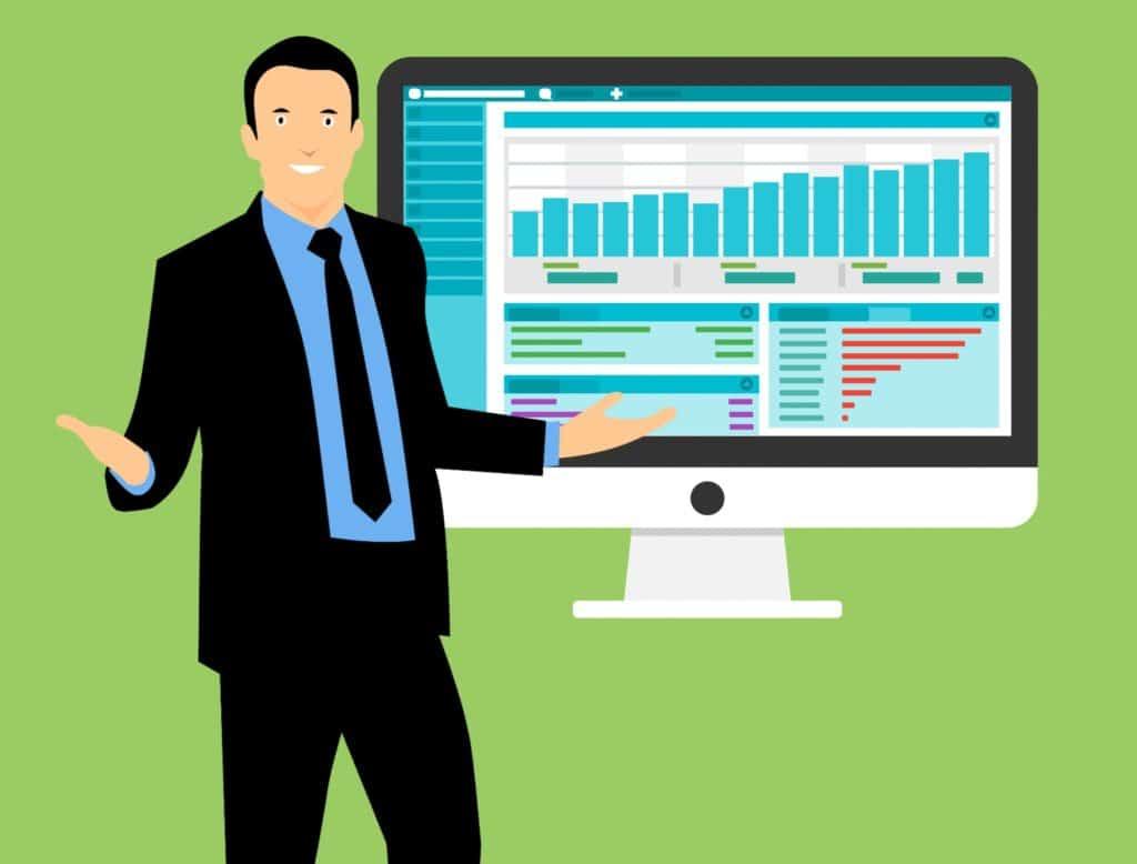 neukundengewinnung sales pitch auf messe