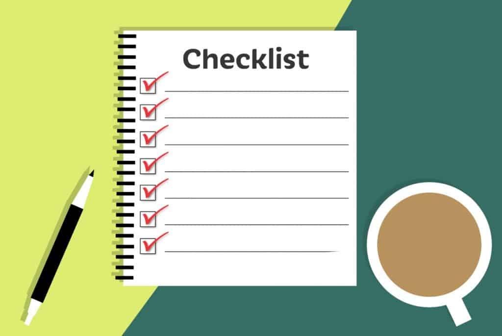 Vertriebsoptimierung - Vertriebsprozess - Checkliste die sicherstellt, dass der Vertriebsprozess standardisiert ist