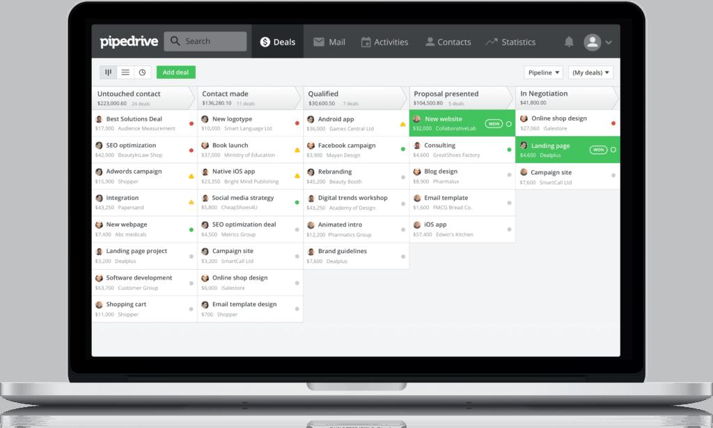 Online-Vertriebsberatung: Pipedrive - CRM-System für kleine Unternehmen