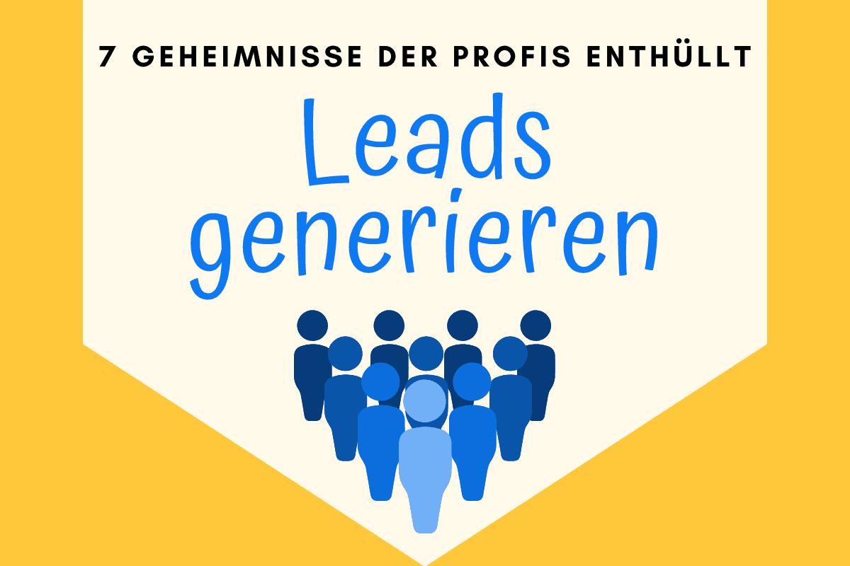 Online-Vertriebsberatung | Leads generieren