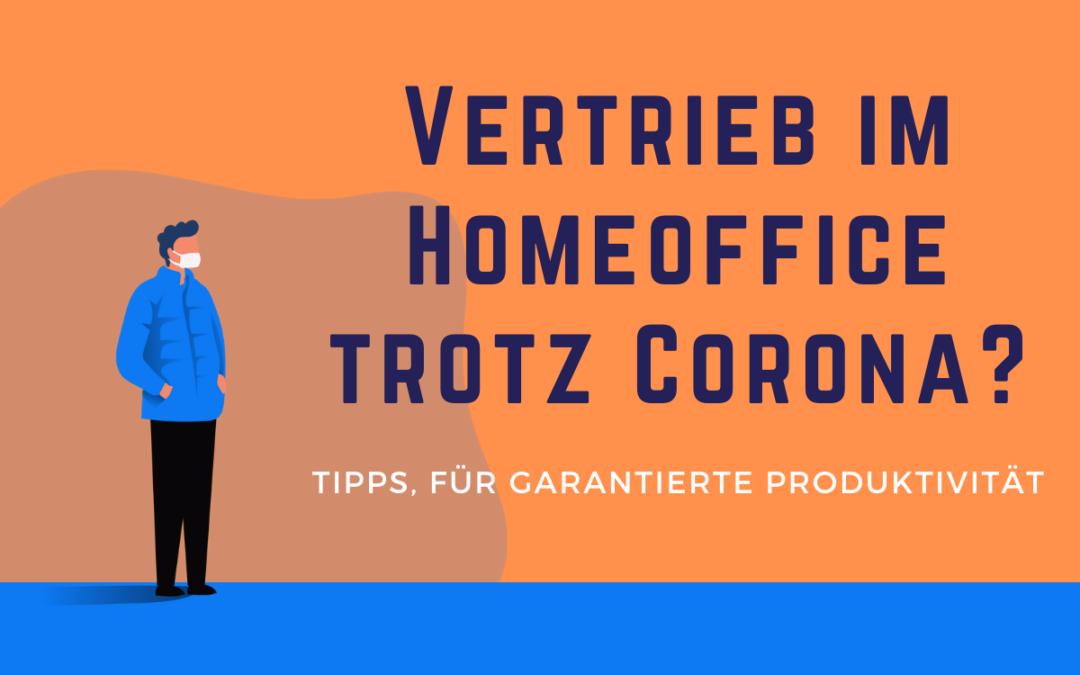 Homeoffice – 5 Tipps, damit du produktiv bleibst