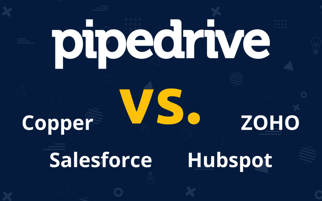 CRM Vergleich – Pipedrive vs. 4 Alternativen