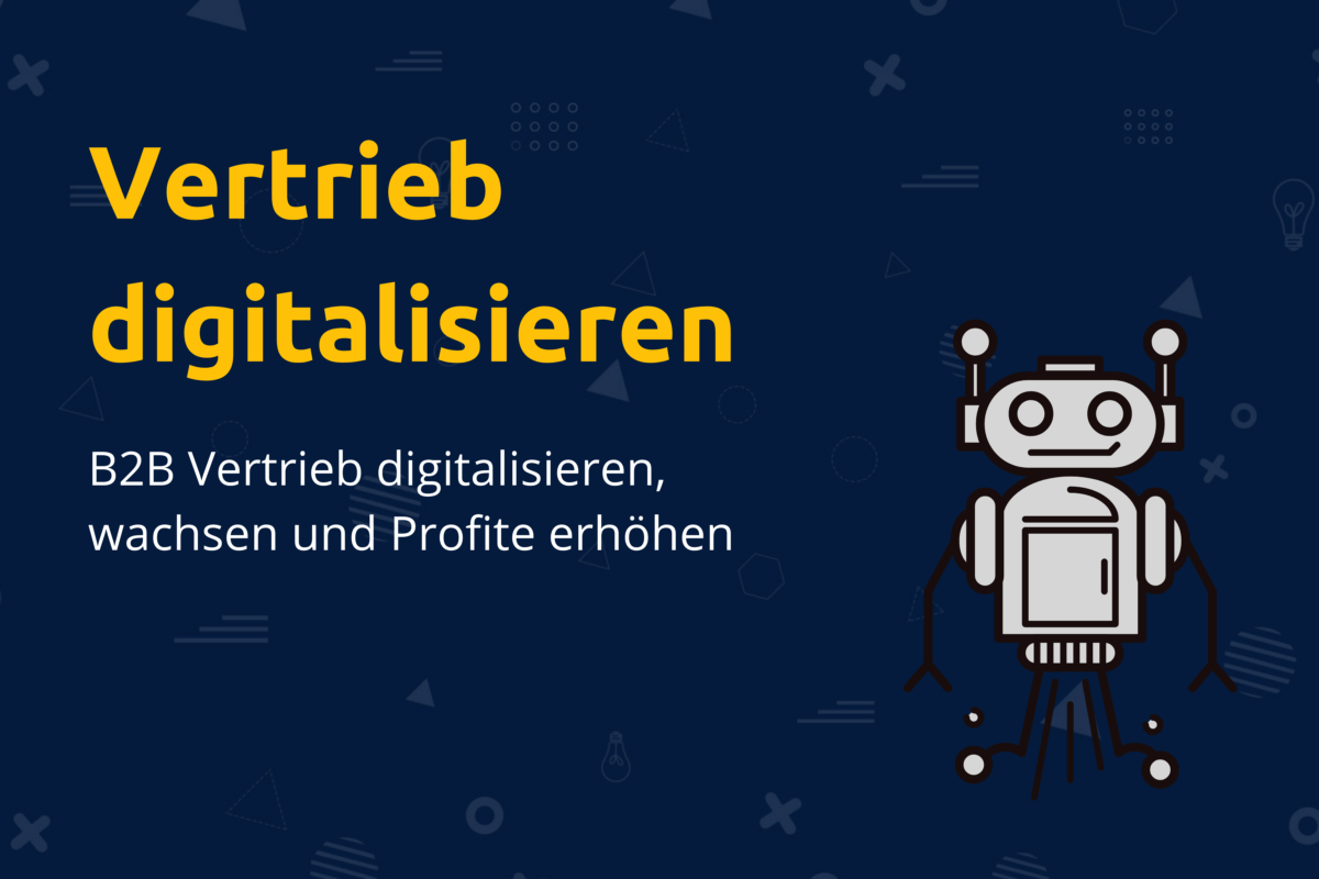 Online-Vertriebsberatung - Vertrieb digitalisieren, wachsen und Profite erhöhen