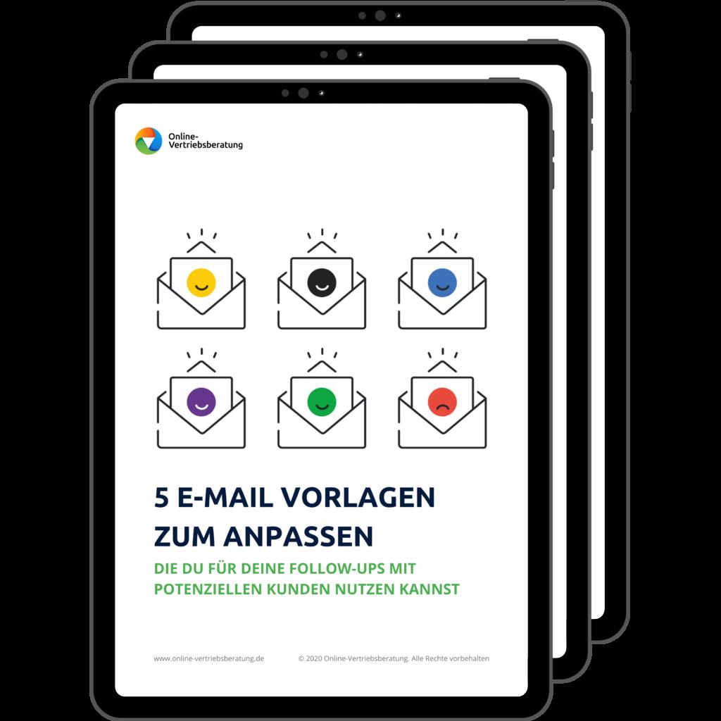Online-Vertriebsberatung - 5 E-Mail Vorlagen für Follow-ups