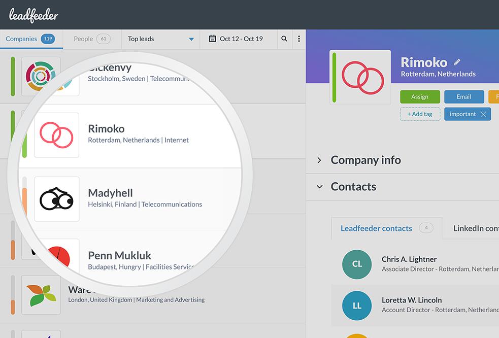 Leadfeeder - Webseitenbesucher die DSGVO-konform identifiziert werden