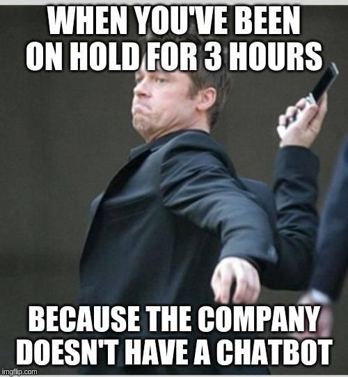 Online-Vertriebsberatung - Chatbot Meme