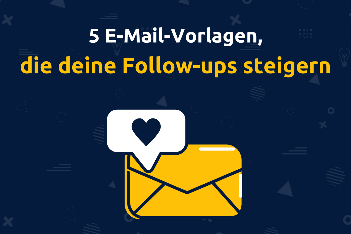 Online-Vertriebsberatung - 5 E-Mail-Vorlagen und Ideen